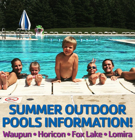 Community Outdoor Pool Information